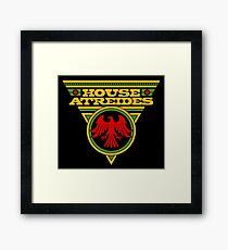 Dune HOUSE ATREIDES Framed Print
