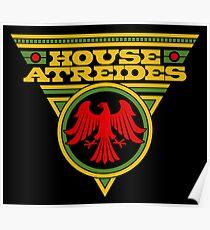 Dune HOUSE ATREIDES Poster