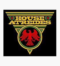 Dune HOUSE ATREIDES Photographic Print