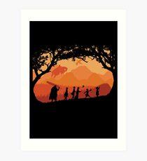 The Fellowship of the Berserk Art Print