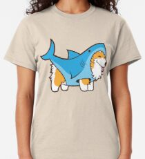 Corgi In a Shark Suit Classic T-Shirt