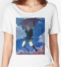 Link - The Legend of Zelda: Breath of the Wild Women's Relaxed Fit T-Shirt