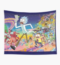 Rick and Morty Wall Tapestry