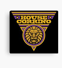 Dune HOUSE CORRINO Canvas Print