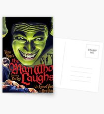 The Man Who Laughs vintage movie poster Postcards