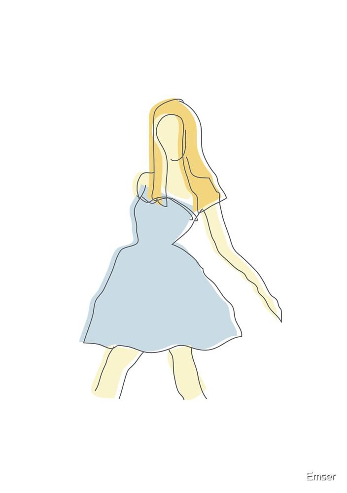 Fashion illustration 1 by Emser