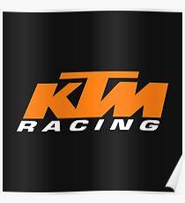 KTM Racing Poster