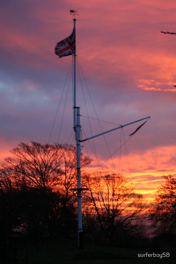 Mast before sunrise by surferboy58