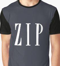 ZIP Graphic T-Shirt
