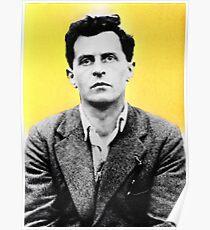 Wittgenstein - stylized Poster