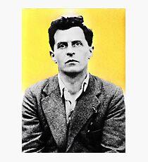 Wittgenstein - stylized Photographic Print