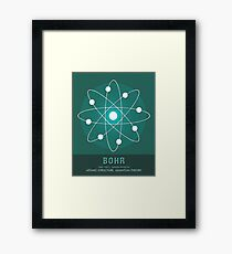 Science Posters - Niels Bohr - Physicist Framed Print