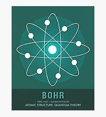 Science Posters - Niels Bohr - Physicist Photographic Print