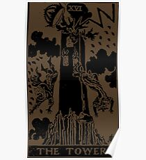 The Tower Tarot Poster