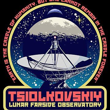 TSIOLKOVSKIY LUNAR FARSIDE OBSERVATORY by Red-Ape