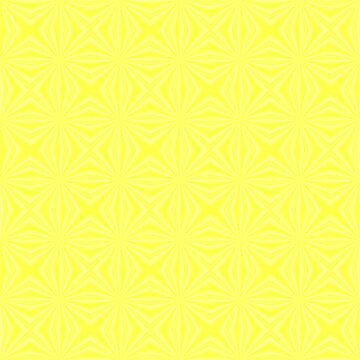 Yellow Squiggly Squares by AuntieShoe