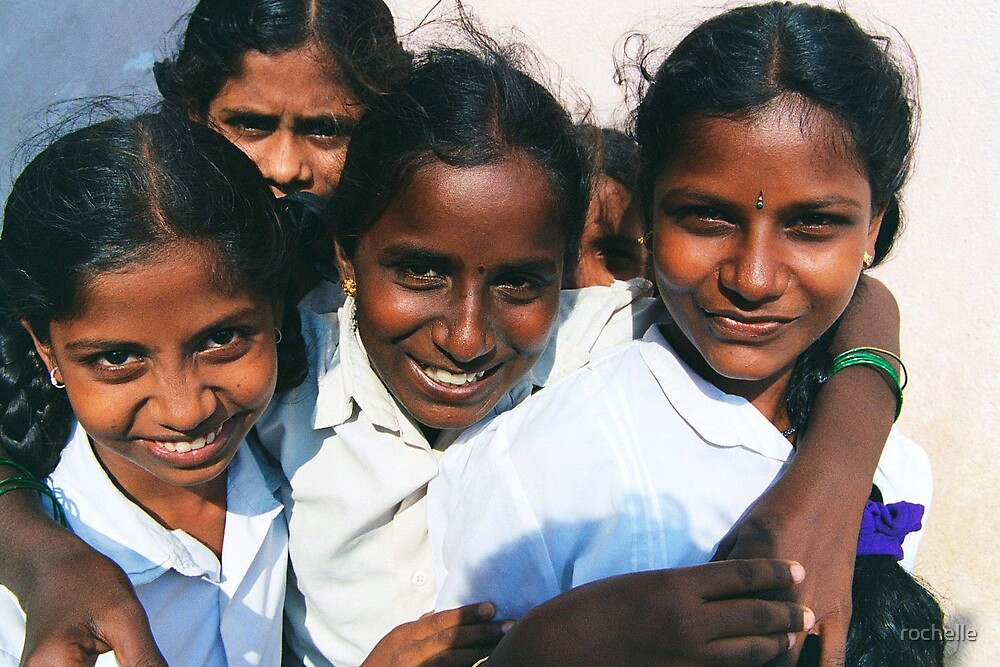 Young people of India by rochelle