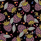 dark strawberries by smalldrawing