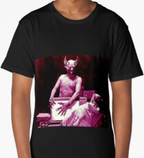 The Devil from the 1920s film Haxan Long T-Shirt