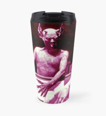 The Devil from the 1920s film Haxan Travel Mug