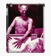 The Devil from the 1920s film Haxan iPad Case/Skin