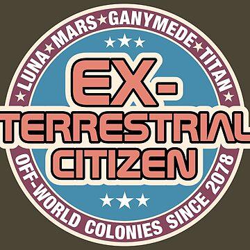 Ex-Terrestrial Citizen by Red-Ape