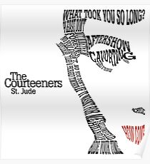 The Courteeners St. Jude Poster