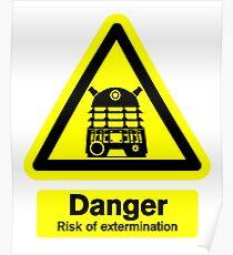 Dalek Danger! Poster