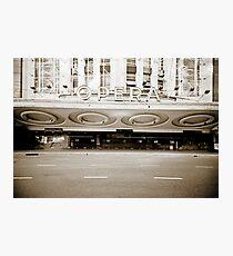 Opera Lomo Argentina Photographic Print