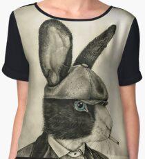peaky blinders rabbit Chiffon Top