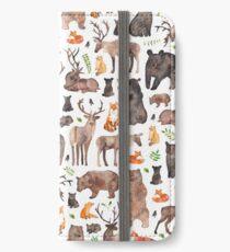 Vinilo o funda para iPhone Animales del bosque