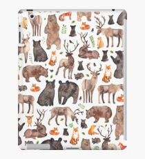 Woodland Animals iPad Case/Skin