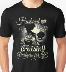 Husband and wife - partners for life Unisex T-Shirt