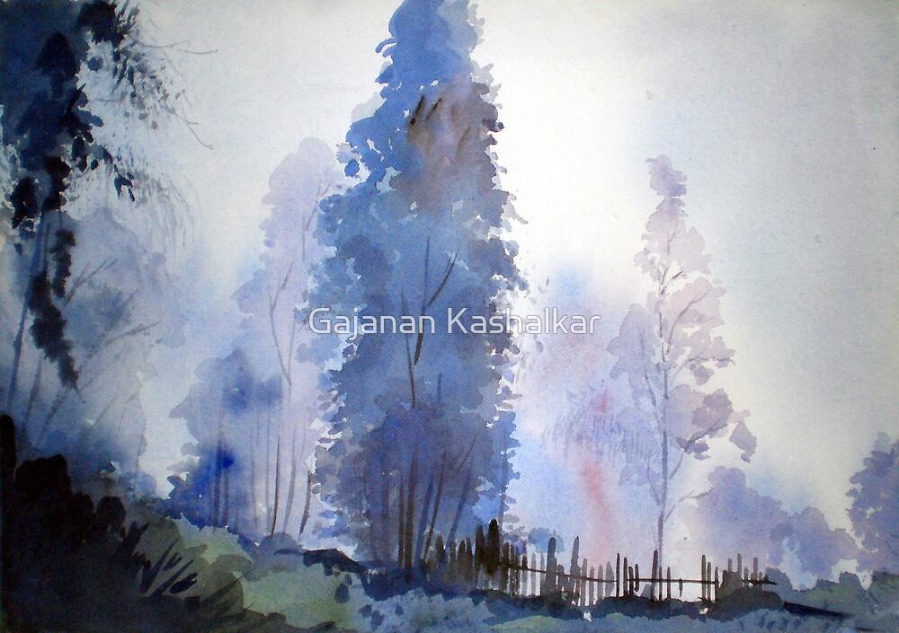 fog by Gajanan Kashalkar