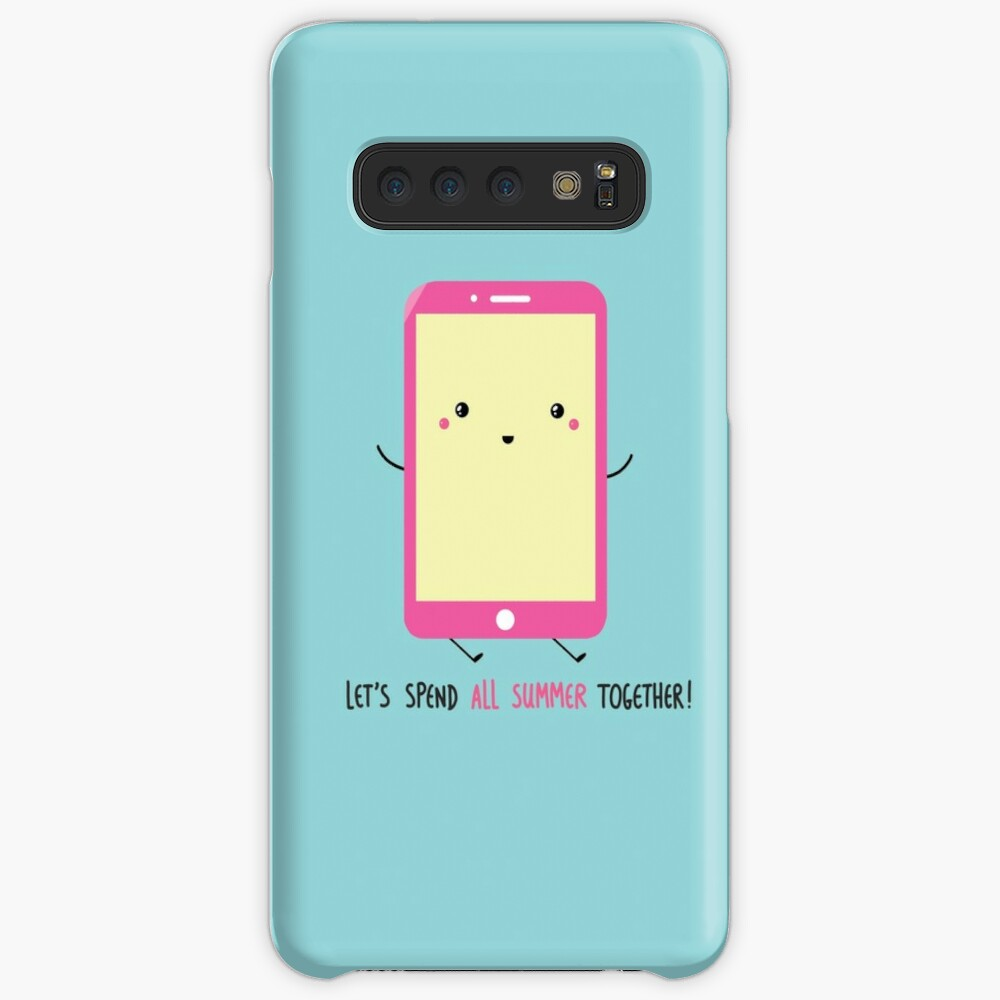 let's spend all summer together Case & Skin for Samsung Galaxy