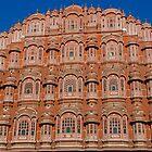 Hawa Mahal, Jaipur, India by Barbara  Brown