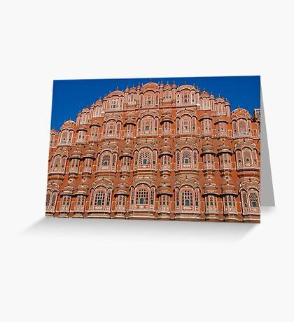 Hawa Mahal, Jaipur, India Greeting Card