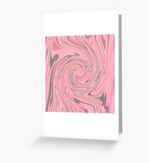 PINK FANCY Greeting Card