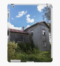 Abandoned Home in Finland iPad Case/Skin