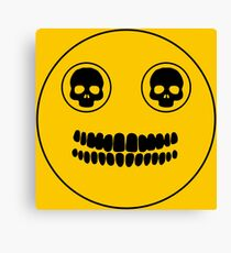 Doctor Who: SMILE Canvas Print