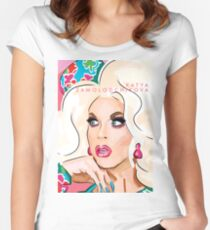 Katya Zamolodchikova Women's Fitted Scoop T-Shirt