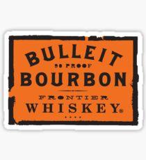 Bulleit Bourbon Sticker
