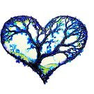 Home Is Where The Heart Is - Trees by Linda Callaghan