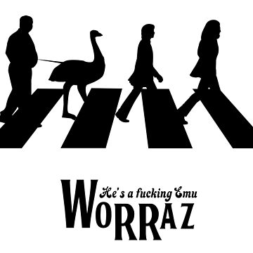 Worraz hes an emu by projectbebop
