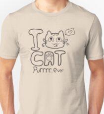 I Love Cat Purrrr... Ever (One Color) Unisex T-Shirt