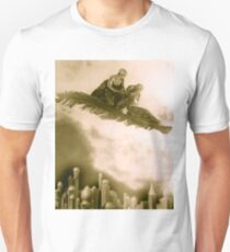 The Thief of Bagdad flying carpet from the 1920s film Unisex T-Shirt