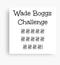 Wade Boggs Challenge  Canvas Print