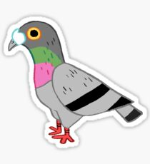 Pigeon pal  Sticker