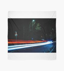 Long Exposure of Cars Passing By Scarf