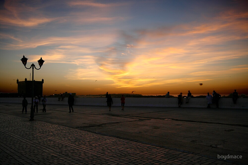 Sunset at Essaouira by boydmace